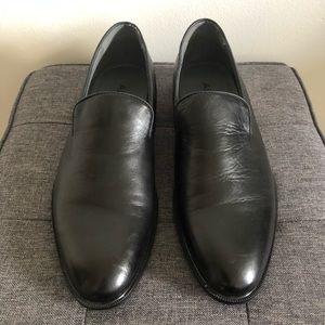 ALDO - Black, Vegan Leather, Smoking Slipper